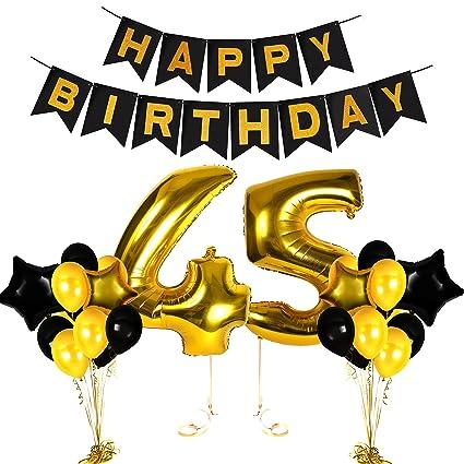 Amazon 45th Birthday Decorations