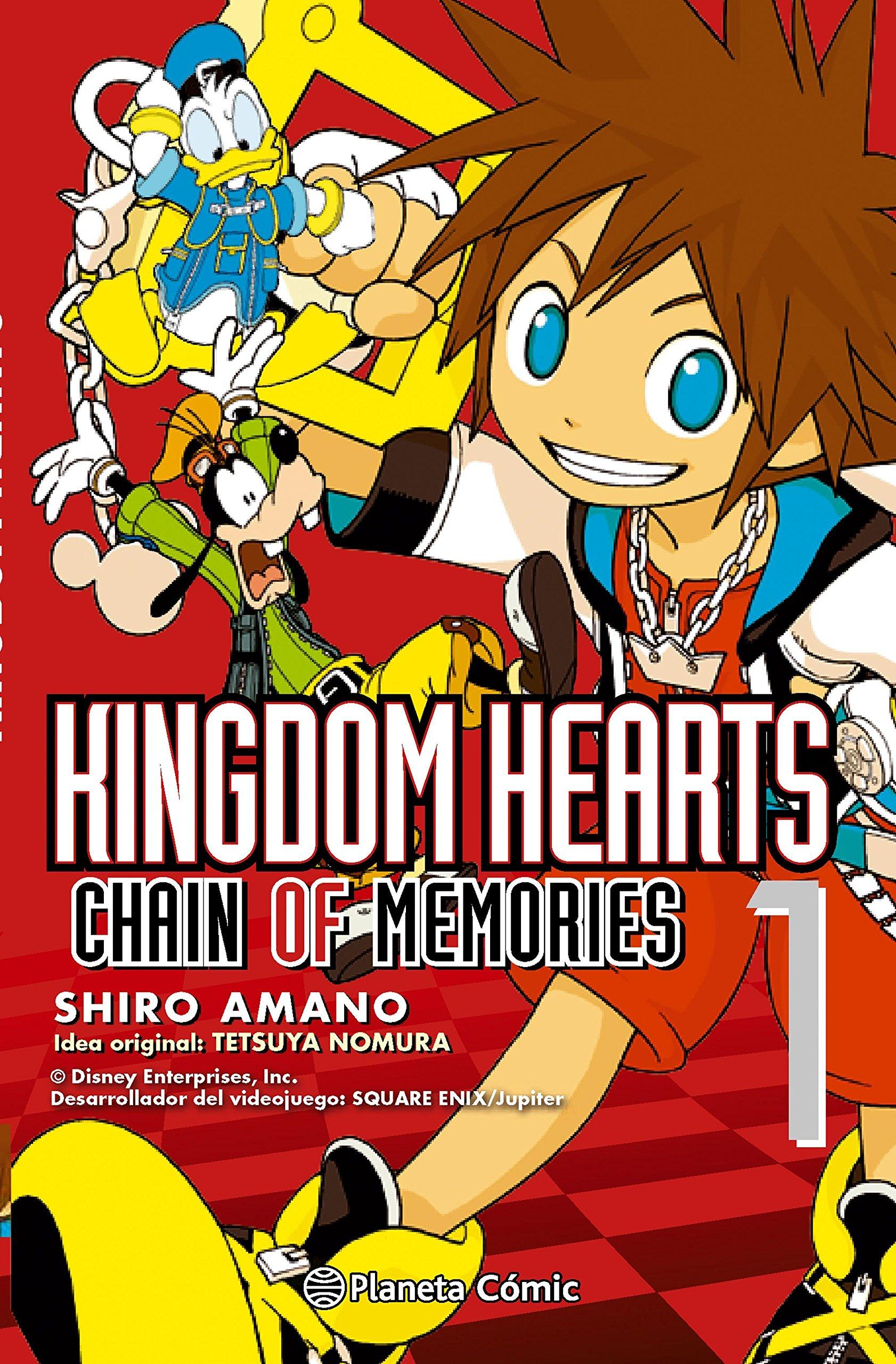 Kingdom Hearts, Chain of memories 1 (Manga Shonen, Band 190)