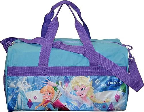 Girls Frozen Blue 18 Duffel Bag Standard