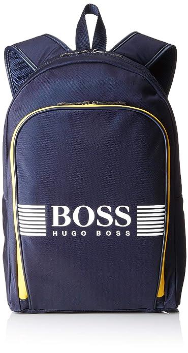 BOSS Athleisure - Pixel_backpack, Mochilas Hombre, Azul (Navy), 12x43x29 cm (B x H T): Amazon.es: Zapatos y complementos
