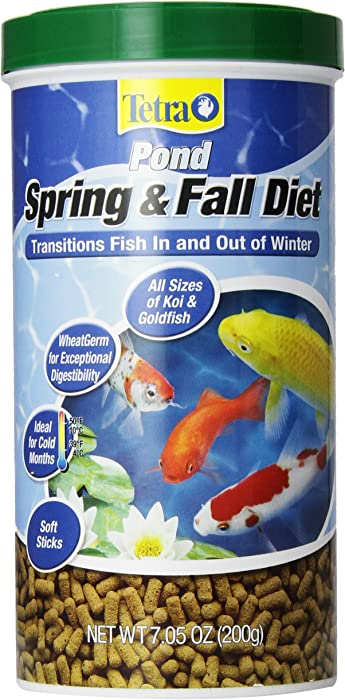 TetraPond Spring & Fall Diet Floating Pond Sticks Fish Food