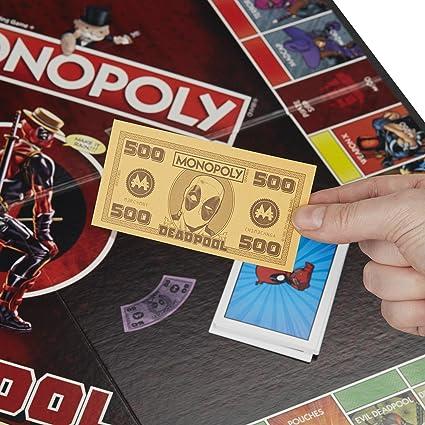 Monopoly Deadpool Marvel Heroes - Juego de Mesa: Amazon.es: Juguetes y juegos