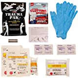 Adventure Medical Kits Trauma Pak with Advanced Clotting Sponge to Stop Bleeding Fast – Zeolite Hemostatic Dressing, Trauma Kit, Bleeding Control Kits, IFAK, Tactical Medical Kit, First Aid Kit