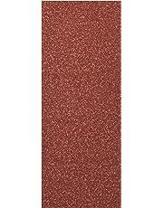 Bosch 2607019498 - Paquete de 25 lijas para lijadoras orbitales (93 x 230 mm, sin perforar, grano 60, 80, 120, 240)