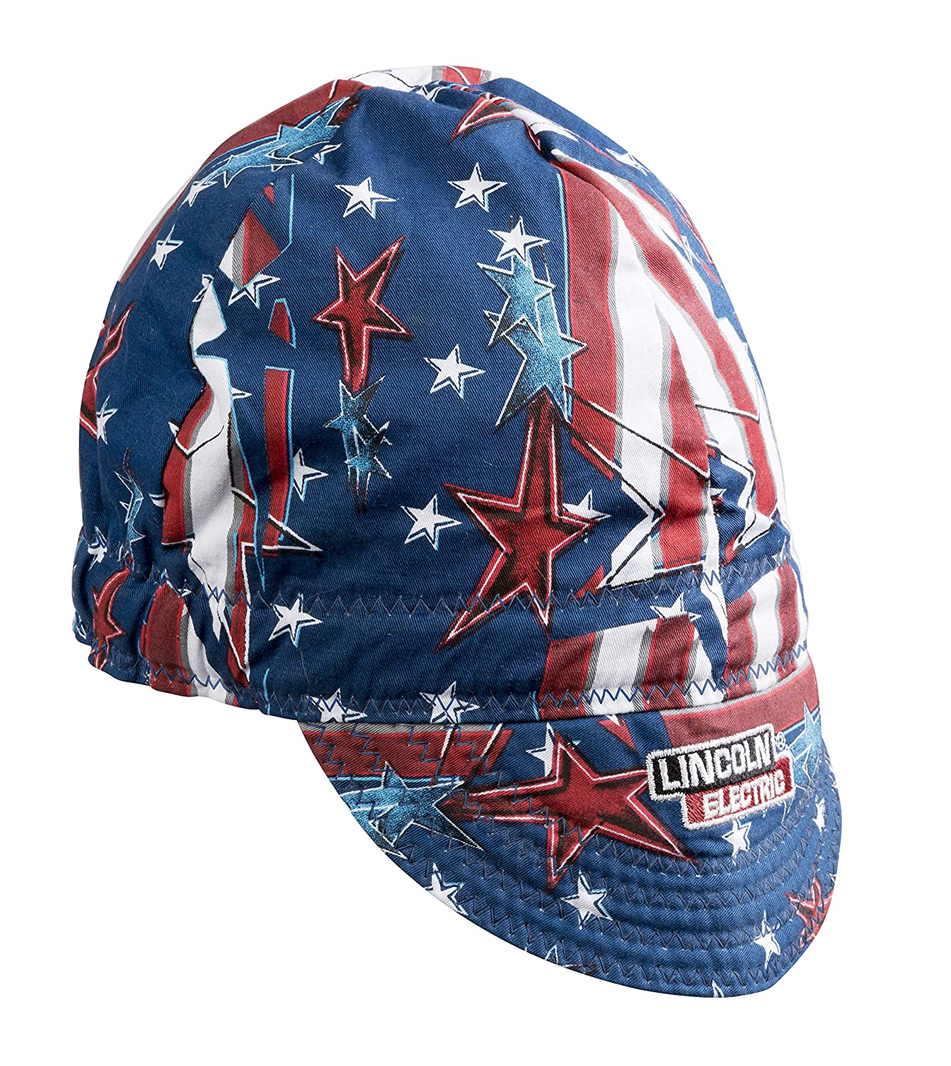 Lincoln Electric Welding Cap| Mesh Inside Liner | All American Print |K3203 ALL