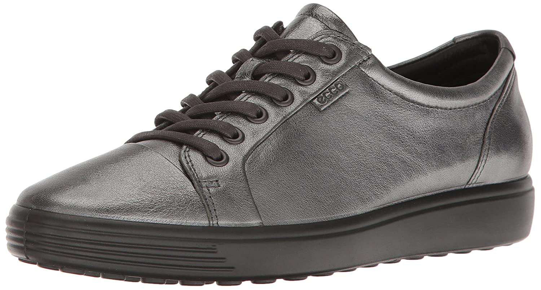ECCO Women's Soft 7 Fashion Sneaker, B01M31E211 38 EU / 7-7.5 US|Dark Shadow