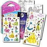 Disney Princess Stickers Travel Activity Set with Stickers, Activities, and Castle Door Hanger