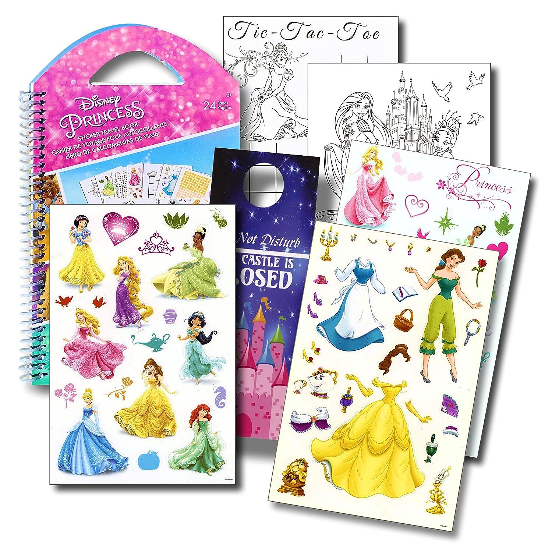 and Castle Door Hanger Disney Studios Activities Disney Princess Stickers Travel Activity Set with Stickers
