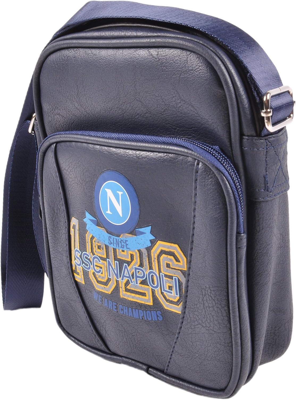 M Unisex SSC Napoli 12925 Umh/ängetasche Blau f/ür Erwachsene