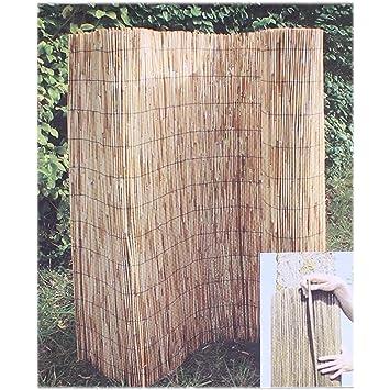 Videx 51142 clôture en roseau, 140 x 600 cm: Amazon.fr: Jardin