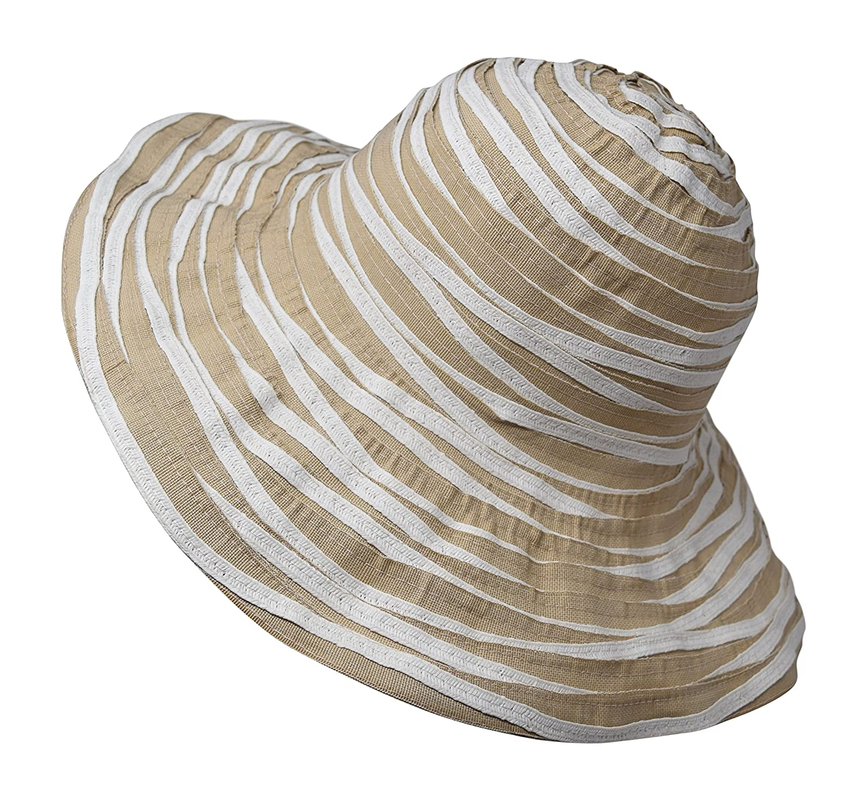 Nickannys Packable Reversible Crusher Sun Shade Beach Hat ... 7db5ac9a372d