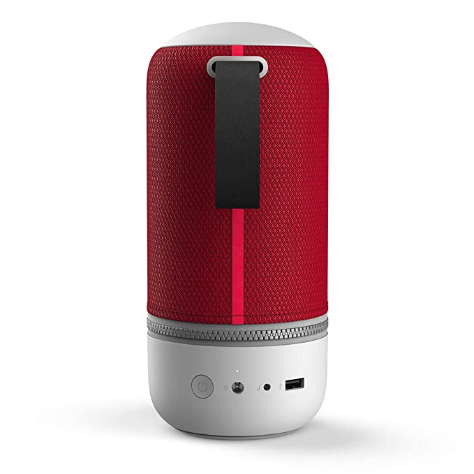Libratone Zipp Mini 2 - Altavoz inteligente multiroom, color rojo (Cranberry Red): Amazon.es: Electrónica
