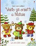 Vesto gli orsetti a Natale. Con adesivi