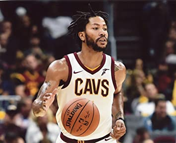 0fc6dd94c79 Image Unavailable. Image not available for. Color  DERRICK ROSE CLEVELAND  CAVALIERS ...
