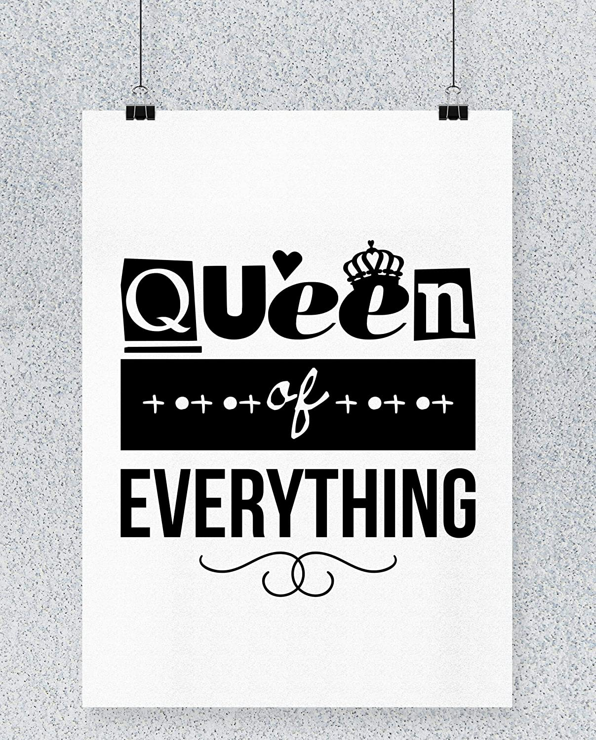 Compra Hippowarehouse Queen of Everything Cartel Impreso ...