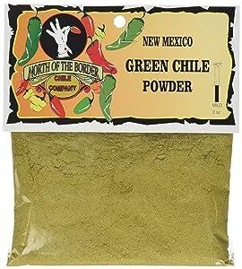 North of the Border New Mexico Green Chile Powder