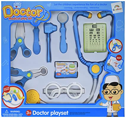 Amazon Com Cooltoys Pretend Eye Doctor Playset Toy For Kids 10