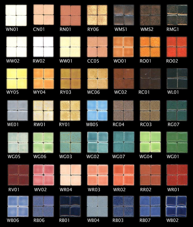 Brown Beige 25//64 inch Mosaic-Minis 250 Pieces 10x10x3mm CC05