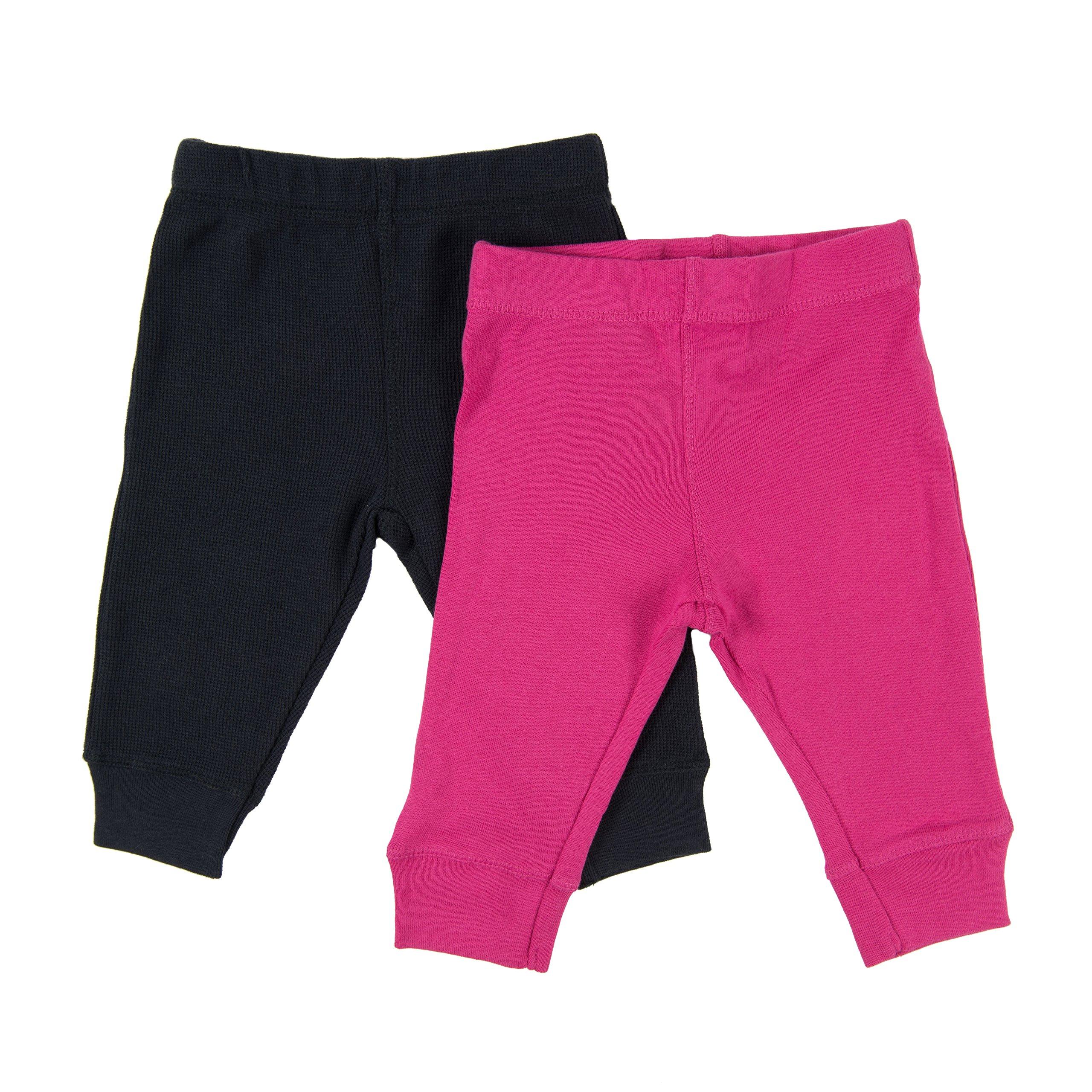 2387464194eb1 Leveret Solid Baby Crawling Pants & Legging Set Kids Baby Pants (Size 3-24