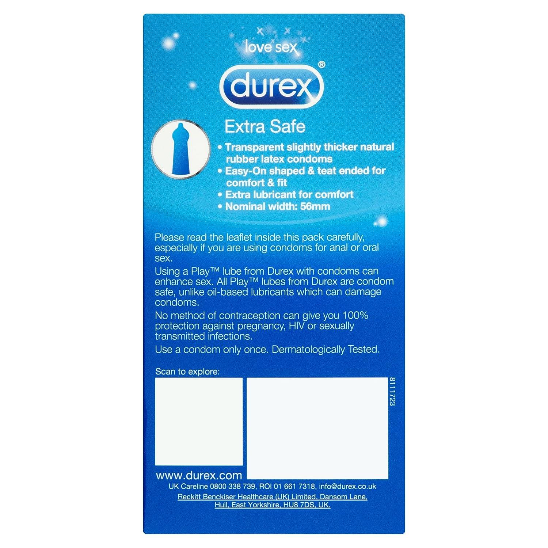 Condoms Durex extra
