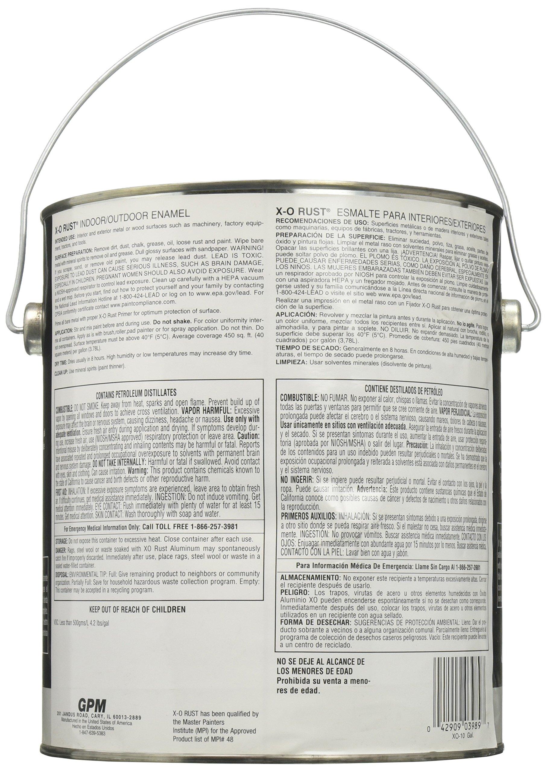 True Value XO10-GL XO-Gallon Aluminum Gloss Enamel by True Value (Image #2)