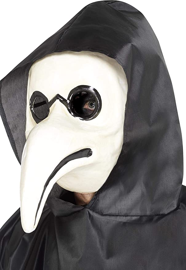 Victorian Men's Costumes: Mad Hatter, Rhet Butler, Willy Wonka Smiffys Authentic Plague Doctor Mask Size: One Size $13.47 AT vintagedancer.com