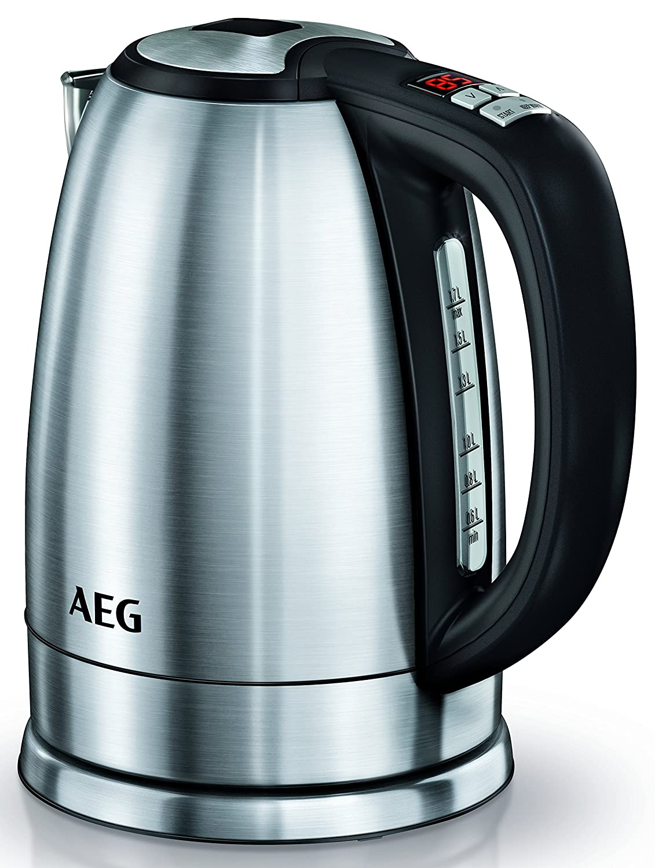 Amazon.de: AEG Wasserkocher PremiumLine 7000Series EWA 7700 (LCD ...