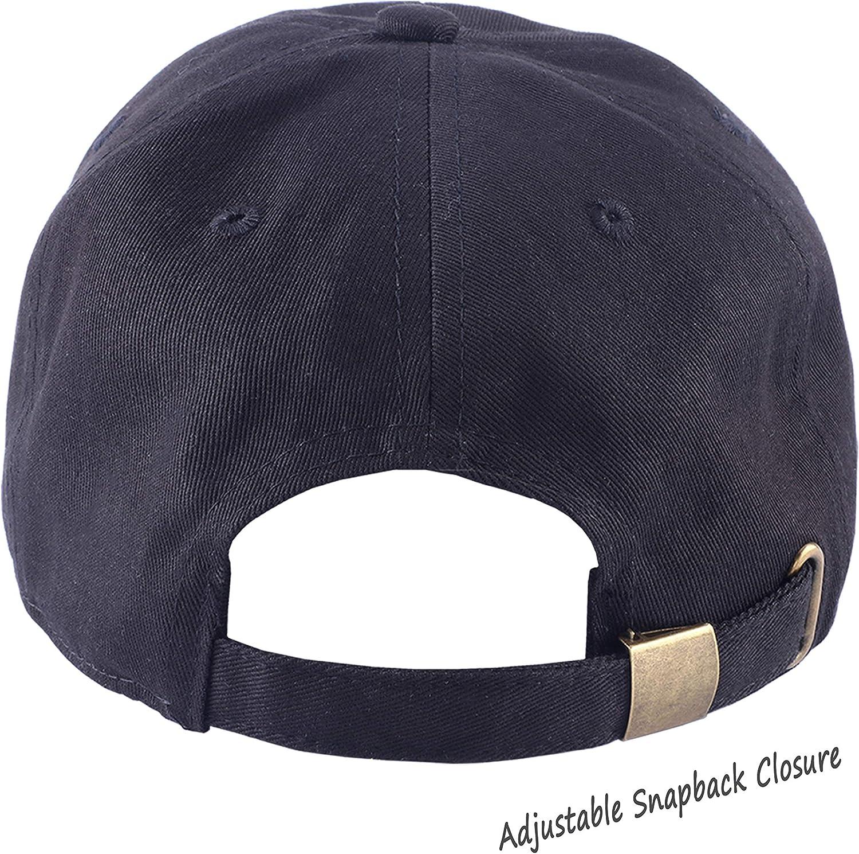 MUSICOT I Hate Mornings Panda Bear Unisex Adjustable Baseball Cap Dad-Hat