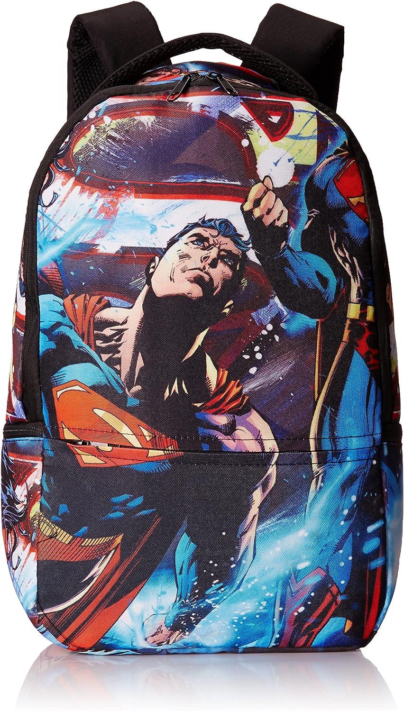 Superman Men s All Over Sublimation Print Backpack