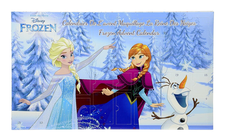 DISNEY Princess Calendrier de l'Avent Reine Des Neiges Palette de Maquillage 9607410