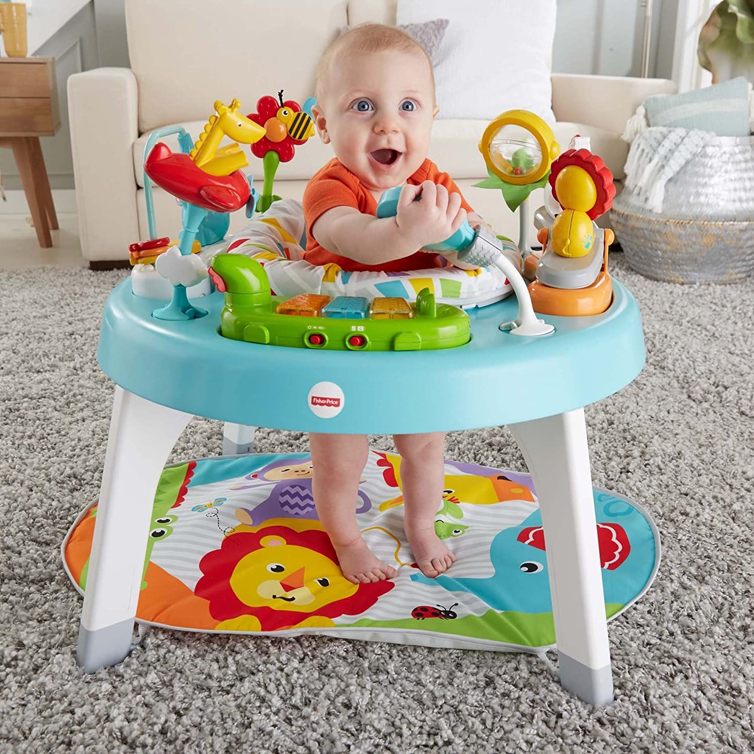0395cfb5f Amazon.com   Fisher-Price 3-in-1 Sit-to-Stand Activity Center