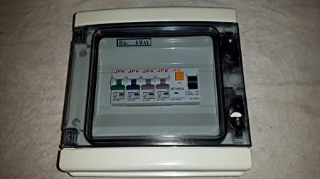 Garage fuse box basic guide wiring diagram garage consumer unit ip65 4 way fuse box fitted with rcd 63amp 30ma rh amazon co uk garage fuse box toolstation garage fuse box wiring diagram cheapraybanclubmaster Images