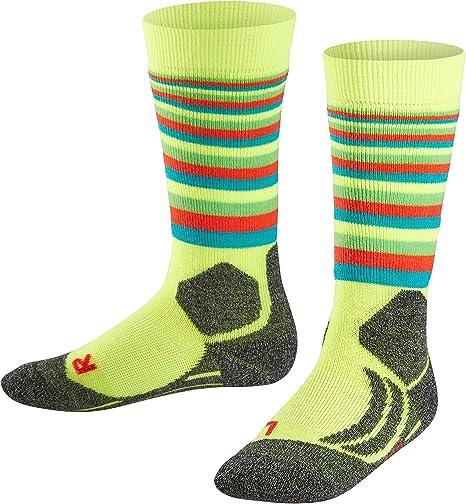 warm breathable Multiple Colours 1 Pair UK sizes 5.5-12.5 sweat wicking Merino Wool Blend Light cushioning FALKE Men SK4 Ski Socks EU 39-48 fast drying