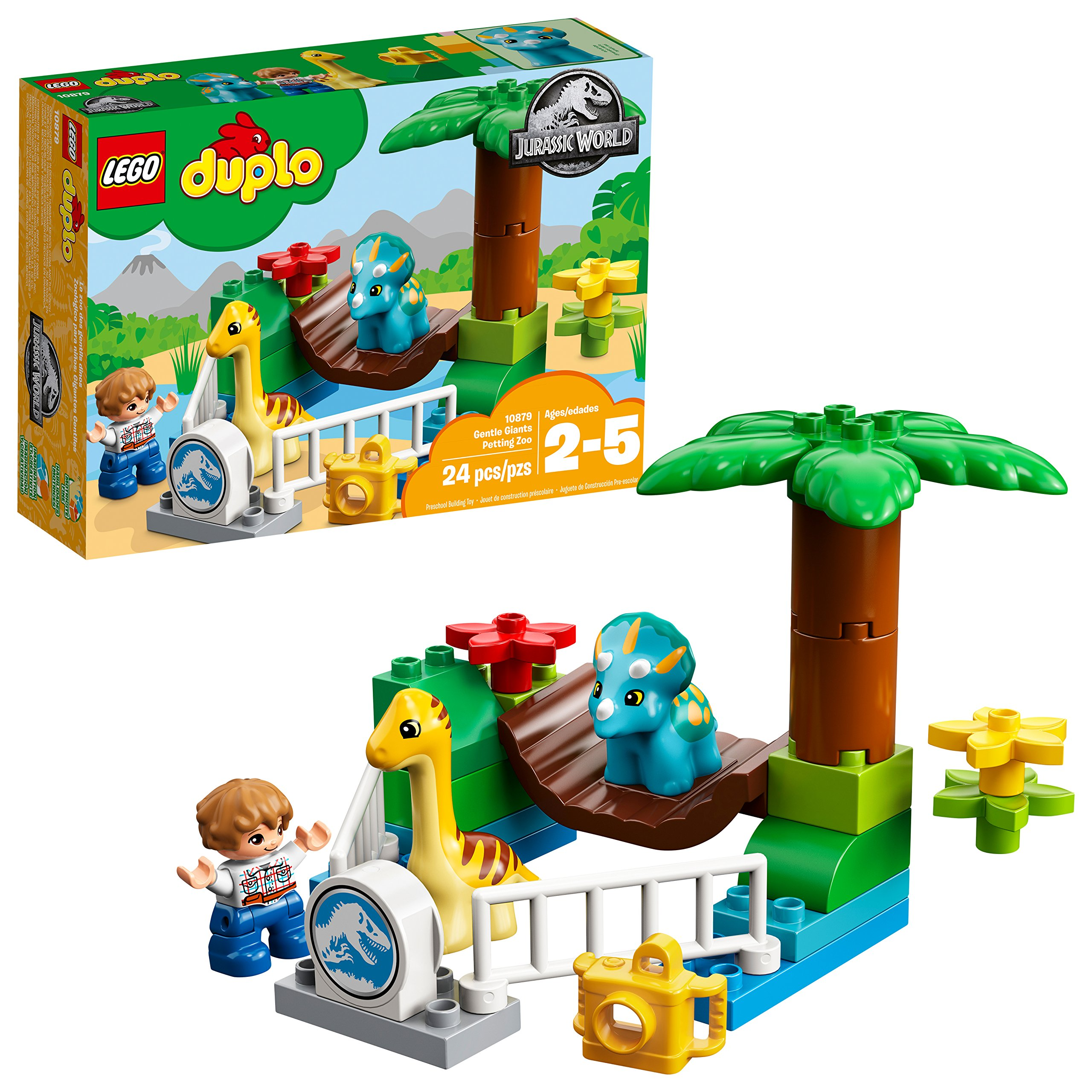 Lego Duplo Jurassic World Gentle Giants Tiendamiacom