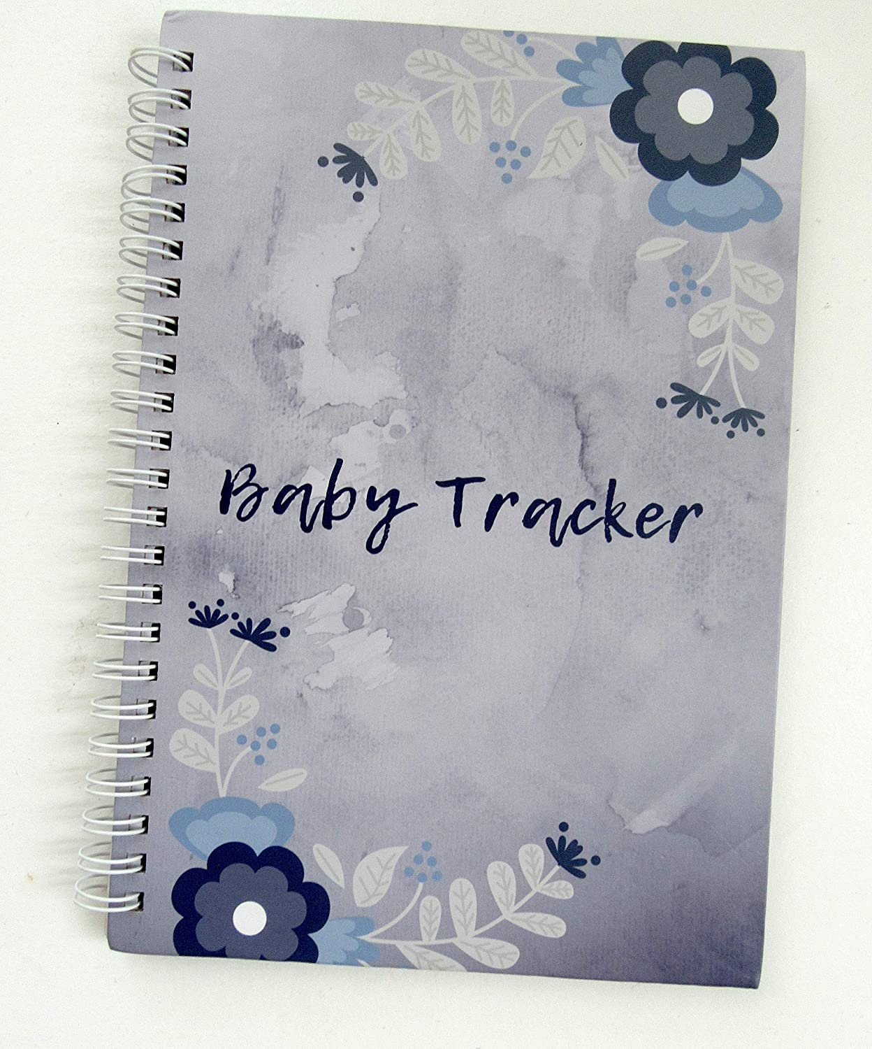 Baby Tracker Baby Daily Schedule Spiral Notebook for 62 Days (Day and Night) New Parents Gift, Baby Shower, Baby Registry, Baby Log Book, Baby Journal Bamboobee Baby Products