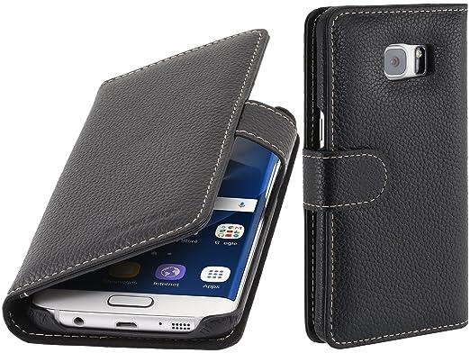 3 opinioni per StilGut Talis, custodia in vera pelle per Samsung Galaxy S7 edge con tasche per