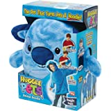 Amazon Com Ontel Huggle Hoodie Ultra Plush Blanket Sea Blue One Size Health Personal Care
