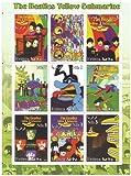 The Beatles Yellow Submarine Briefmarkenbogen mit 9 postfrische Briefmarken - psychadelic Kunstwerk aus den 60er Jahren