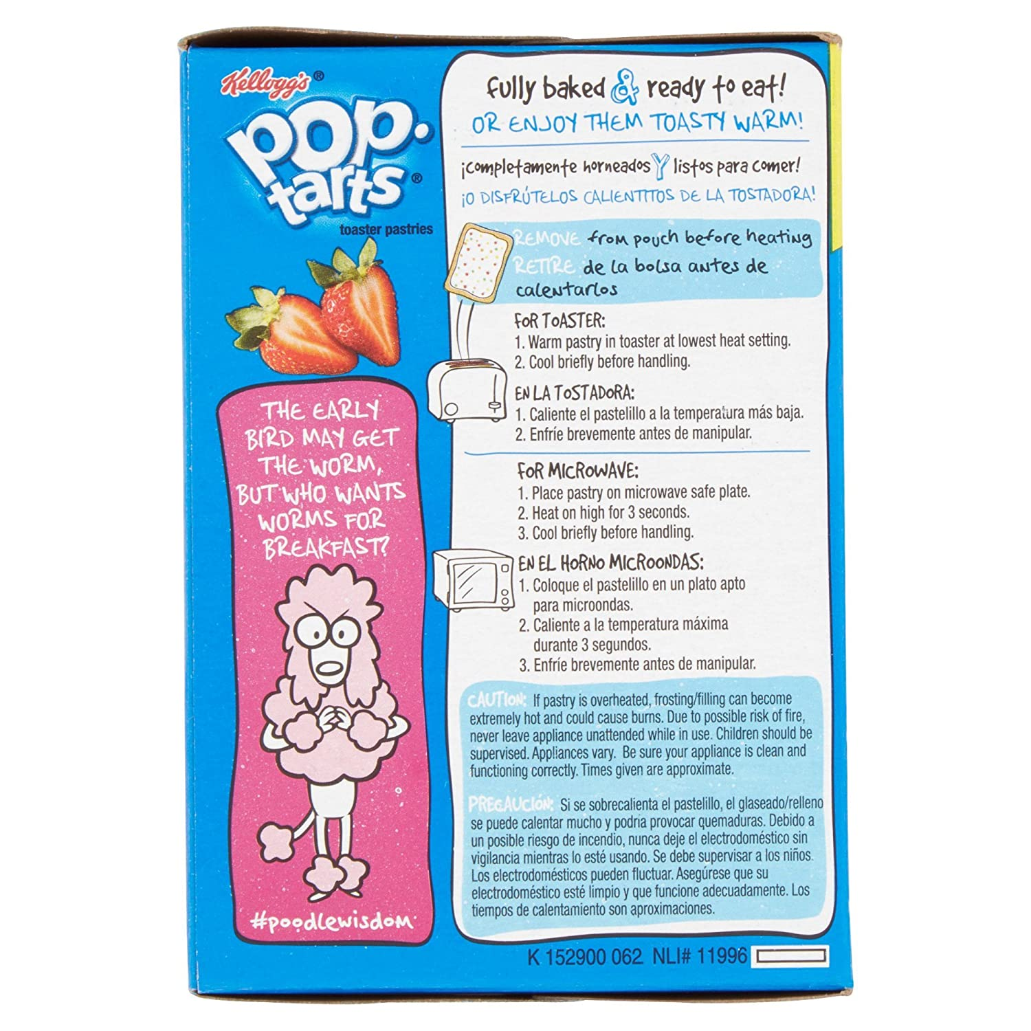 Amazon.com: Kelloggs Pop-Tarts Frosted Strawberry Toaster Pastries, 16 ct 29.3 oz (Pack of 2): Cell Phones & Accessories