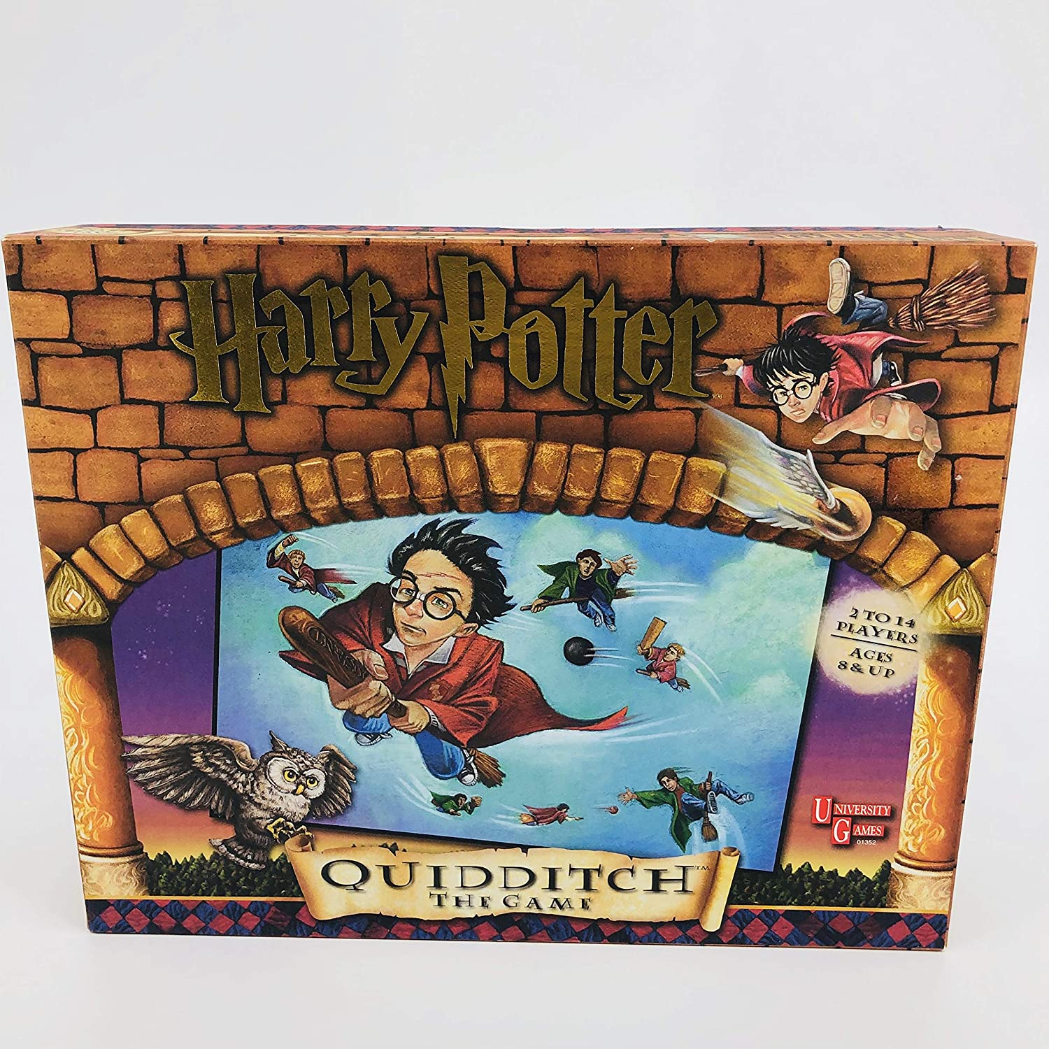 Quidditch: the Game (Harry Potter): University Game: Amazon.es ...