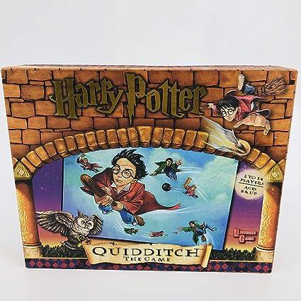 Amazon.com: Harry Potter; Quidditch el Juego (2000): Toys ...