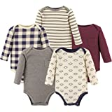 Hudson Baby Unisex Baby Long Sleeve Cotton...