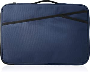 AmazonBasics Laptop Case Sleeve Bag - 15-Inch, Navy