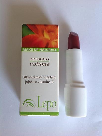 Labios Volumen N.4 alle ceramici vegetales, jojoba y vitamina E lepo
