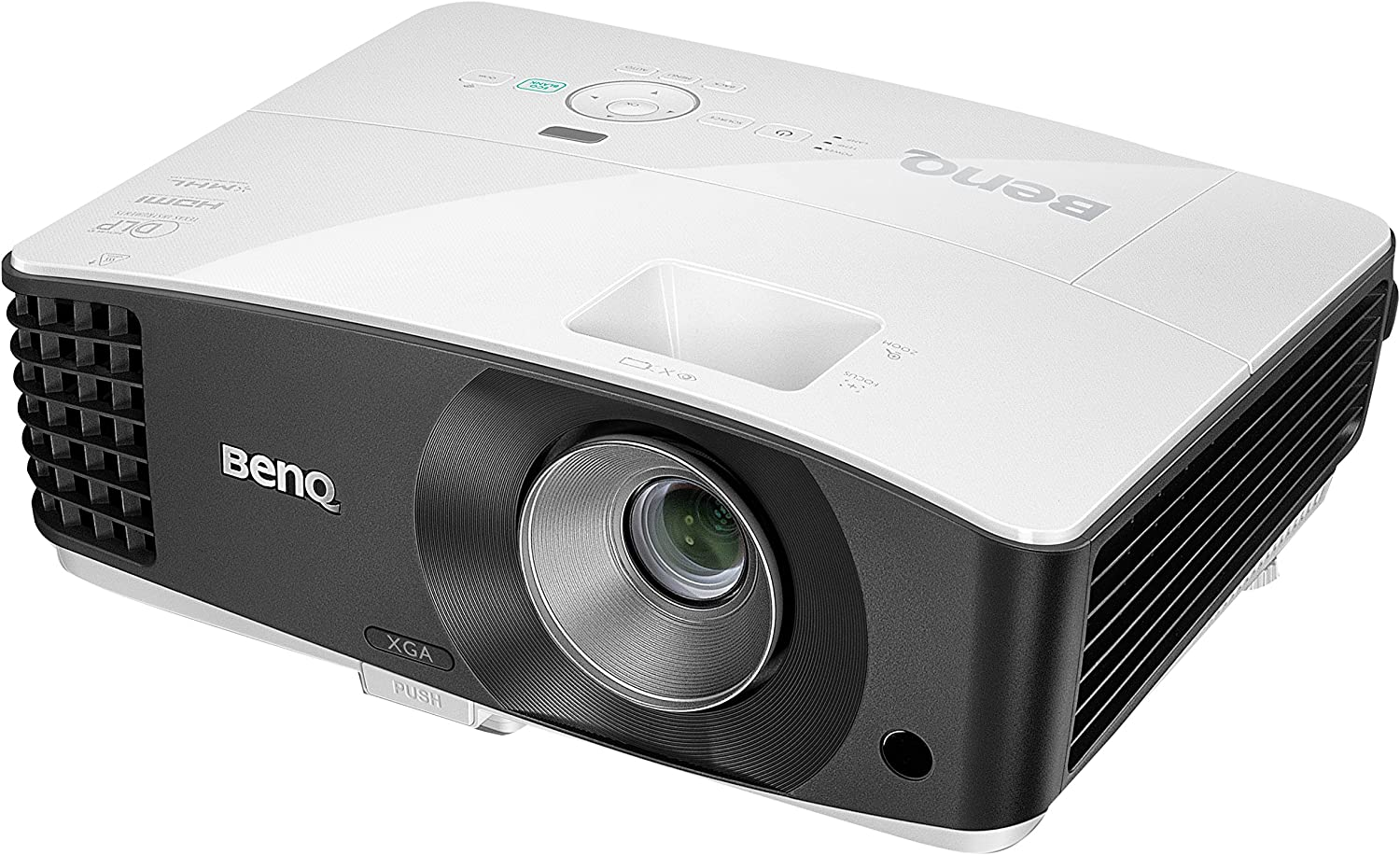 BenQ MX704 - Proyector de Alta luminosidad, Color Blanco: Amazon ...