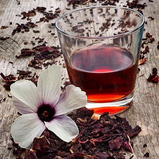 Hibiscus Tea Bags 90 Premium Bags 100% Pure Bursting with All-Natural antioxidants