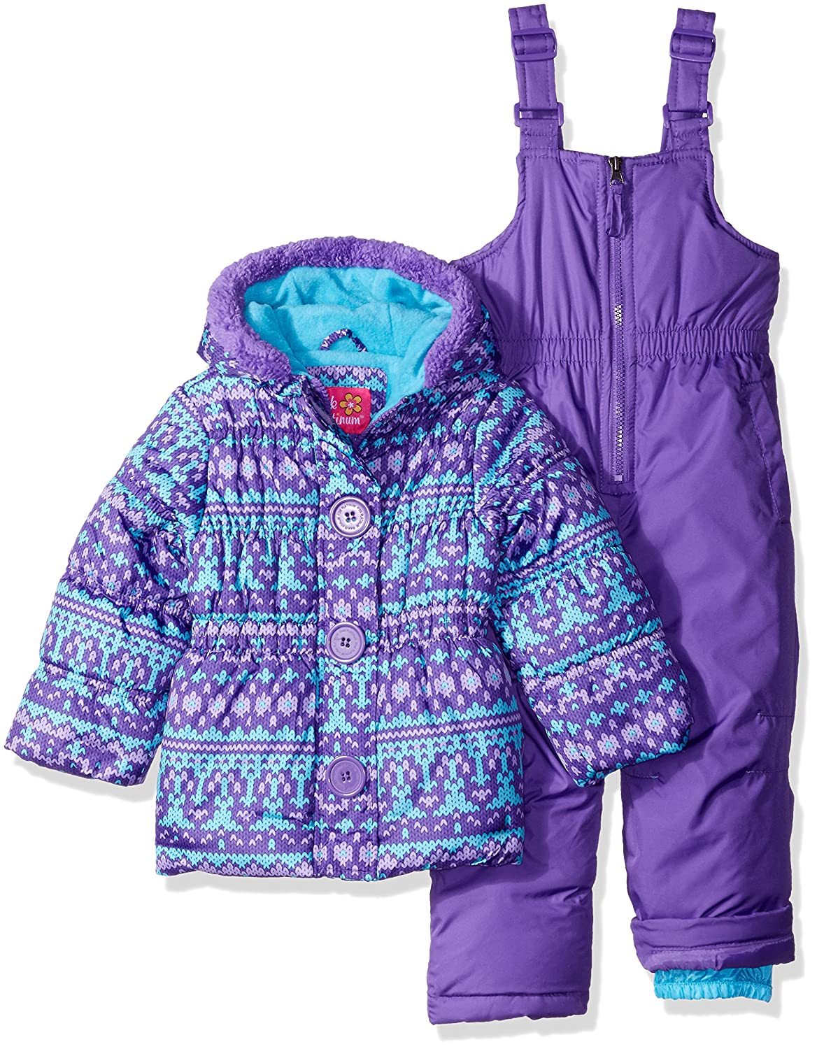 shipping clothing over orders girls free on snowboard toddler ski puffer suit snowmobile platinum snowsuit winter product overstock shoes pink
