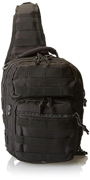 54bc65056d5dc Mil-Tec US Assault Pack One Strap small Schwarz  Amazon.de  Sport ...