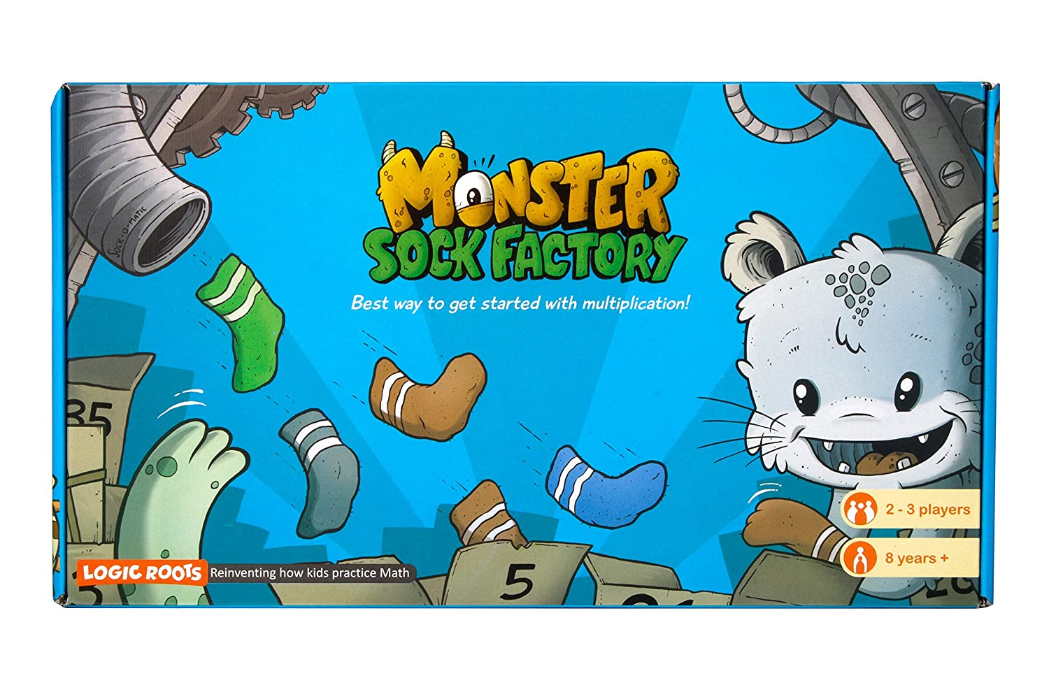 Amazon.com: LogicRoots Monster Sock Factory First Step To ...