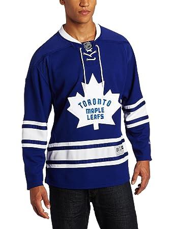the best attitude b8fc8 66140 Amazon.com : NHL Men's Toronto Maple Leafs Reebok Edge ...